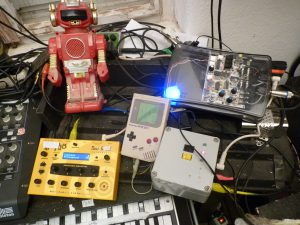 Arduinoboy along with some other studio gear
