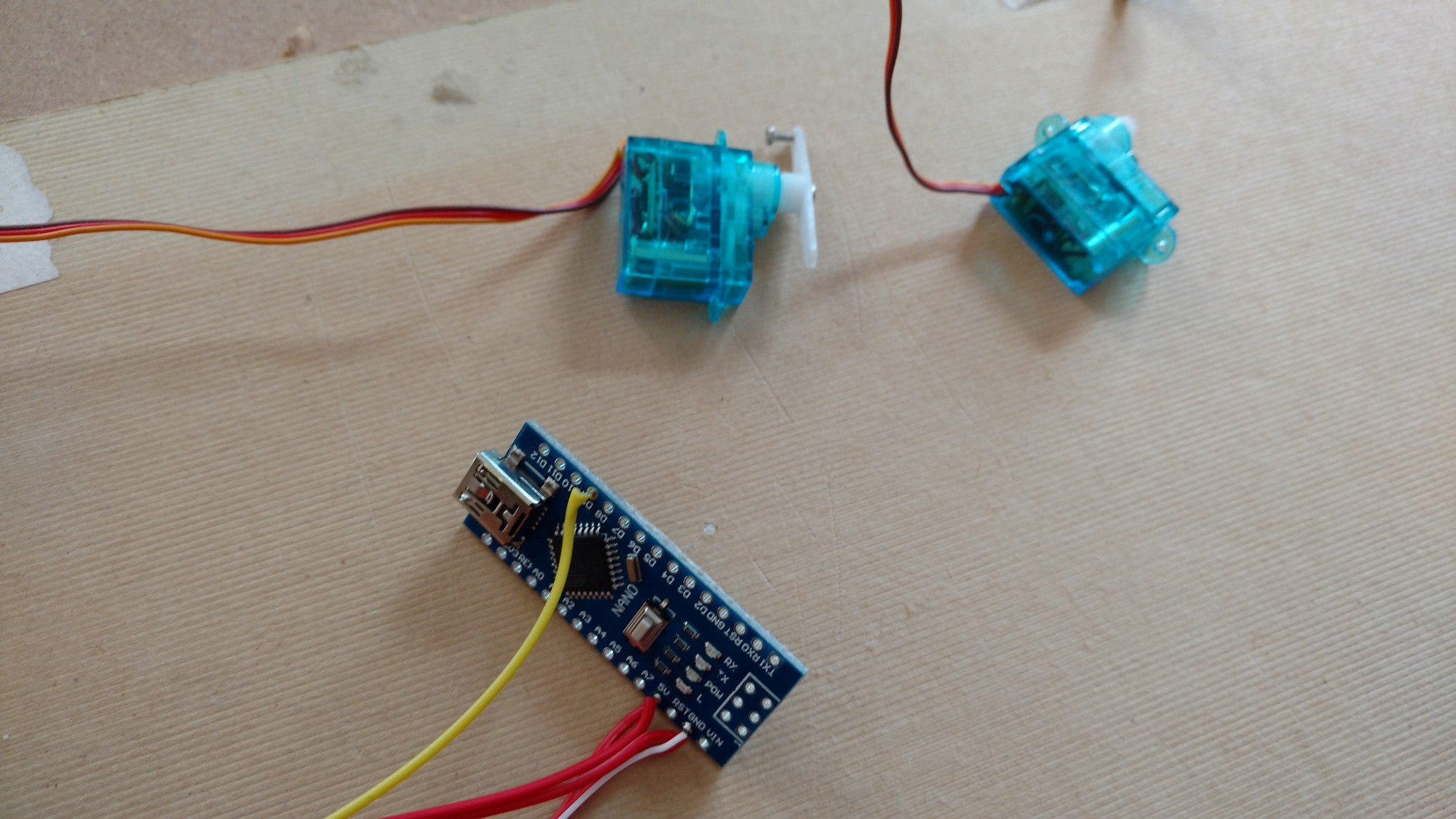 Sonic Robots Learning Experiments With Tlc5940 And Arduino Build Circuit Haunted Eyes 1 11